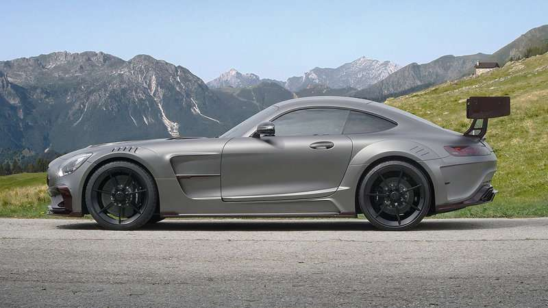 Mercedes-AMG GT S by Mansory, il profilo