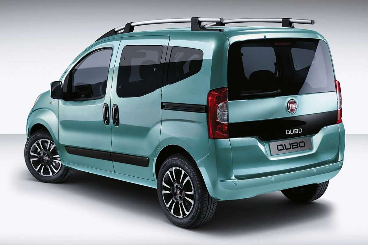 Fiat Qubo Natural Power Metano posteriore