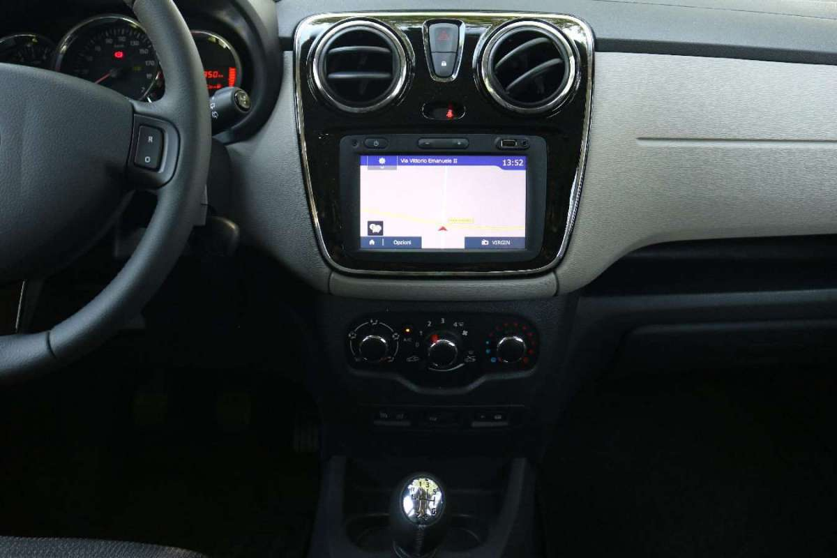 Dacia Lodgy consolle centrale
