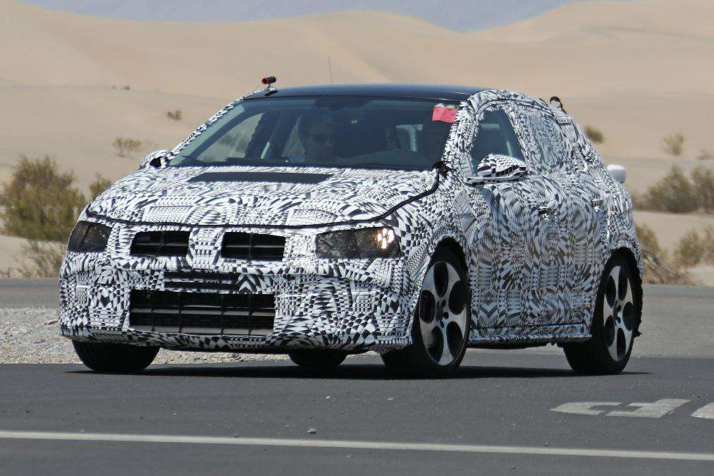Volkswagen Polo 2017 spy