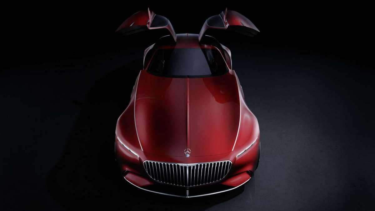 Mercedes-Maybach Coupe Concept