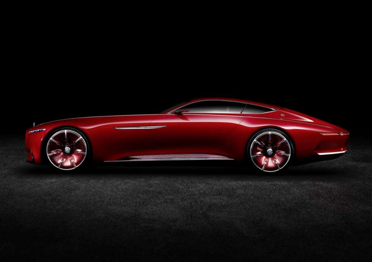 Vision Mercedes-Maybach 6 Concept rossa