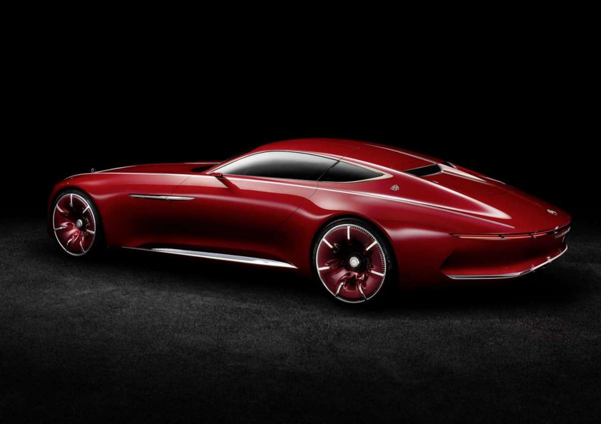 Vision Mercedes-Maybach 6 Concept Pebble Beach