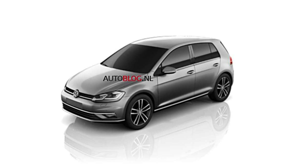 Volkswagen Golf 2017 restyling
