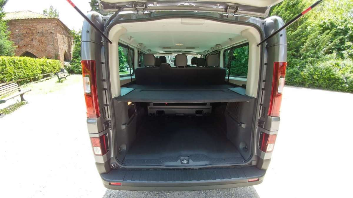 Renault Trafic bagagliaio