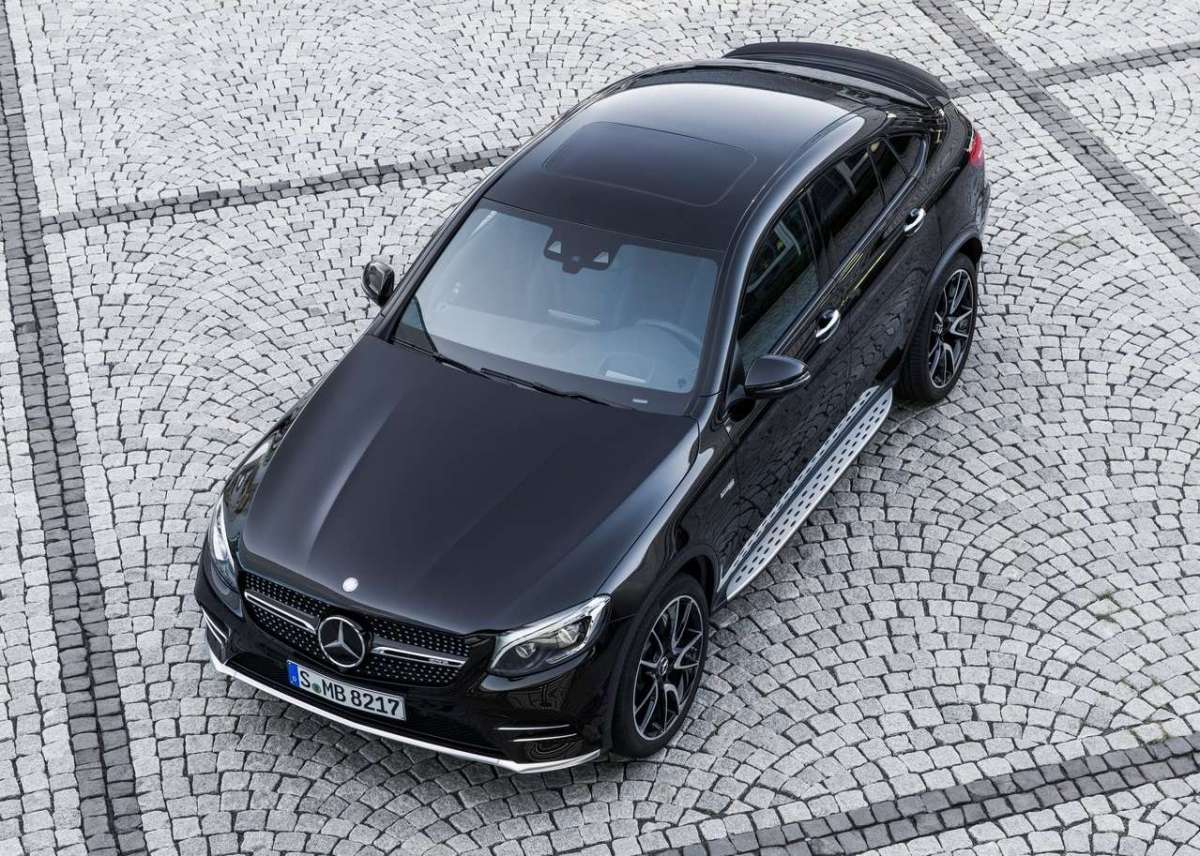Mercedes AMG GLC 43 4matic Coupe, cambio 9G-Tronic