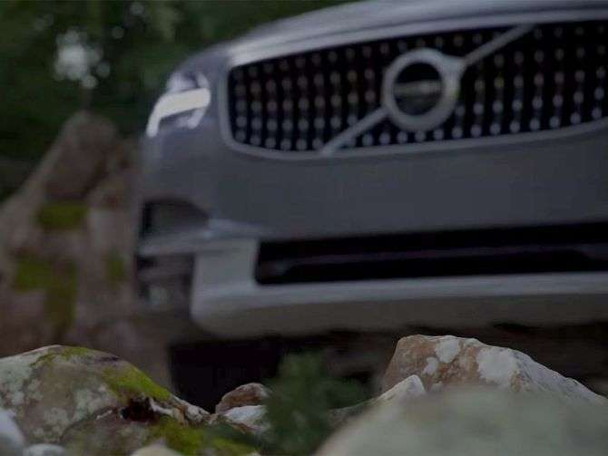 Primo teaser della V90 Cross Country