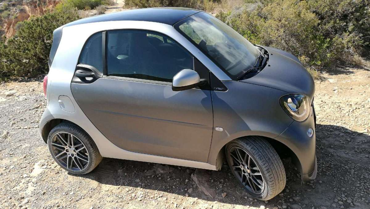 Smart ForTwo Brabus laterale