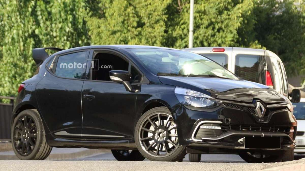 Renault Clio RS 16, foto spia