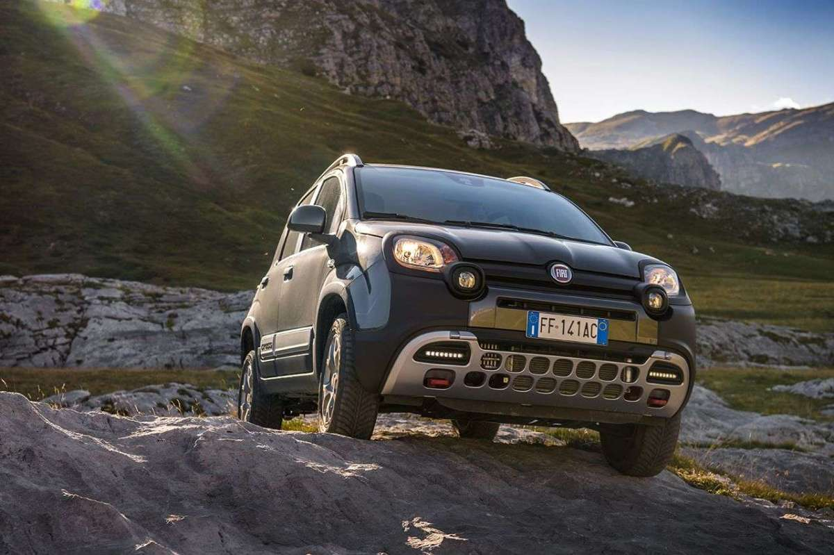 Anteriore Fiat Panda Cross MY 2017