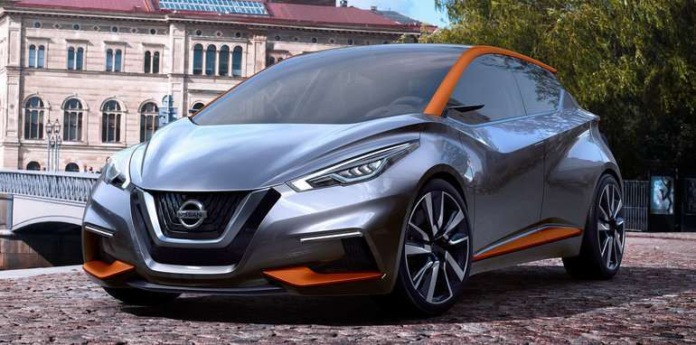 Nissan Micra nuovo look