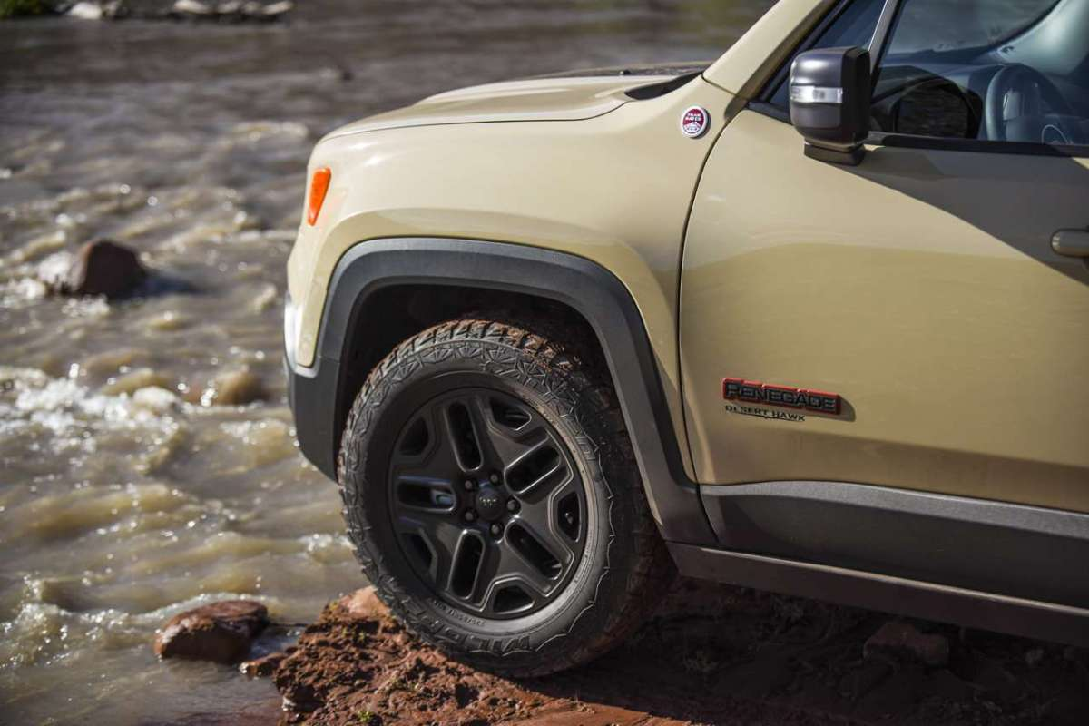 Jeep Renegade Desert Hawk ruote da off road