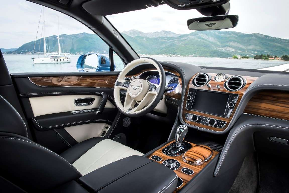 Bentley Bentayga Diesel, interni