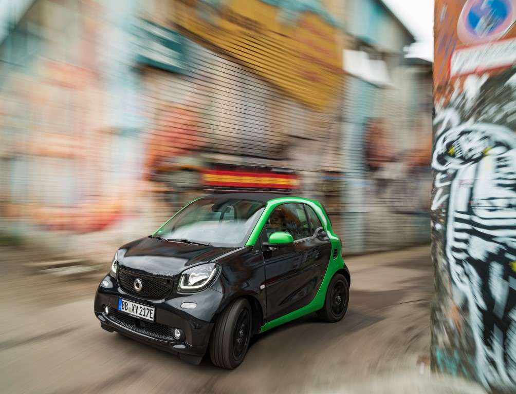 Scheda tecnica di Smart Fortwo coupe Electric Drive