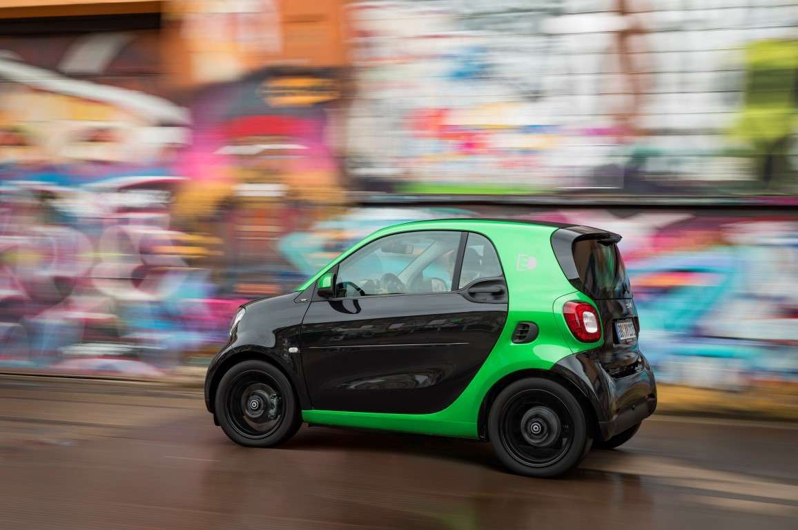 Smart Fortwo coupe Electric Drive, incentivi