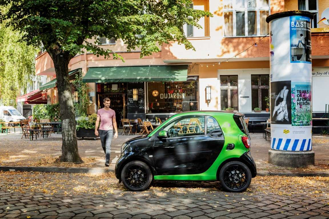 Smart fortwo Electric Drive, velocità