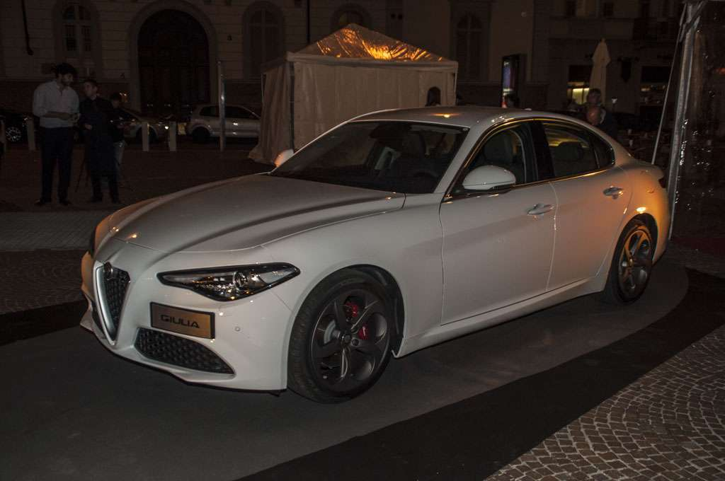 Alfa Romeo Giulia The Red Table motore