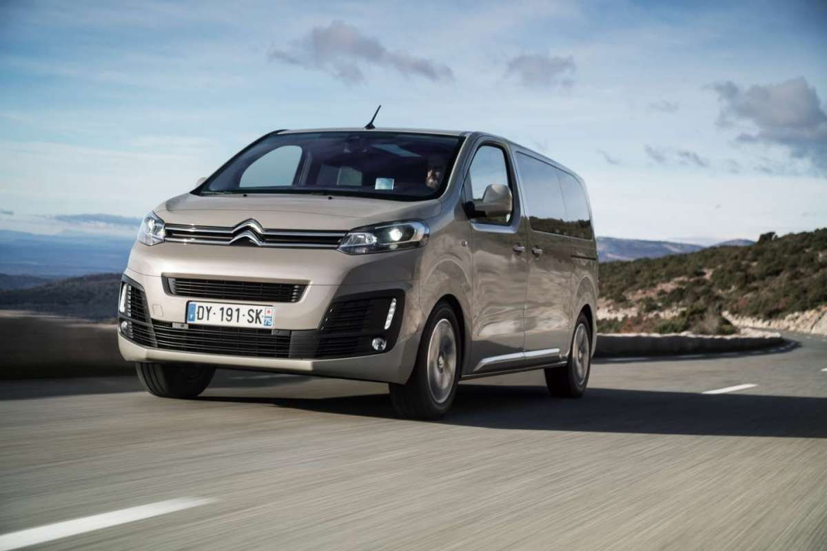 Citroen SpaceTourer, per il business
