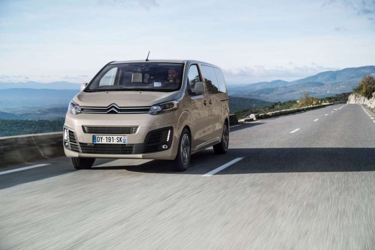 Citroen SpaceTourer, comoda
