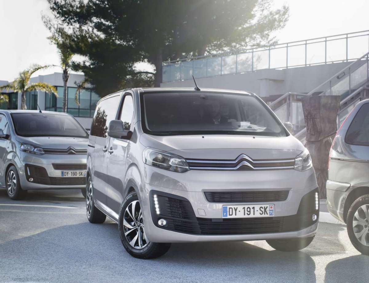 Citroen SpaceTourer, design convincente