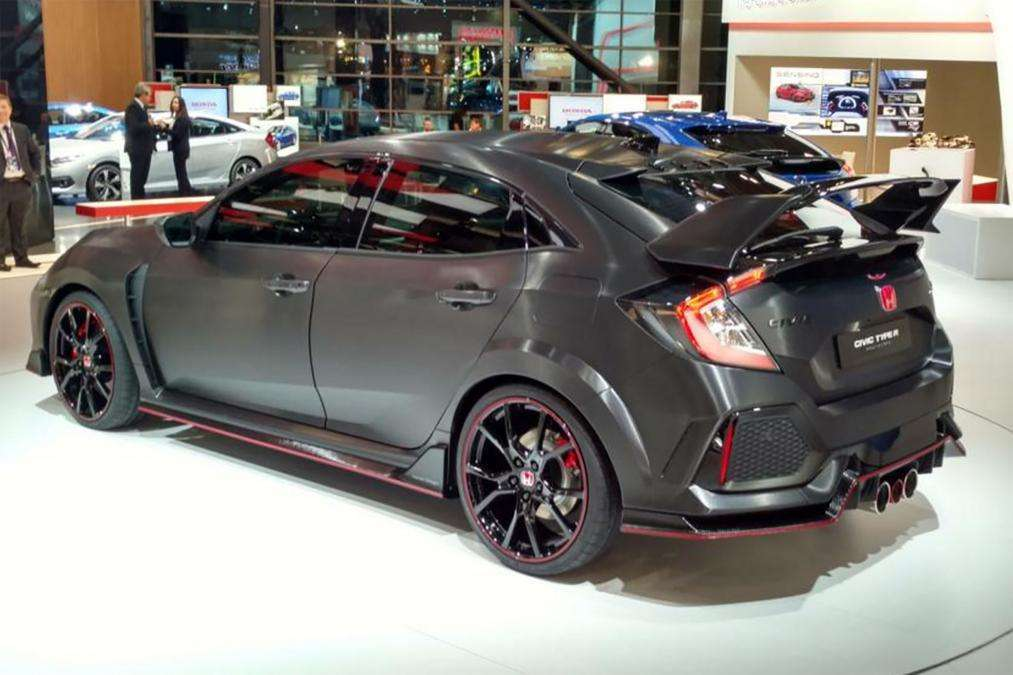 Honda Civic Type R al Salone di Parigi 2016