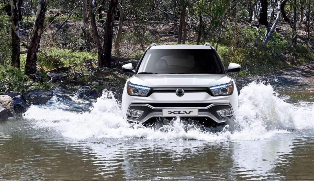 Nuova SsangYong XLV in acqua