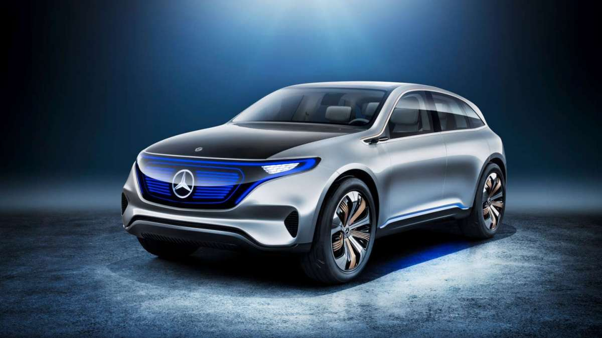 Mercedes-Benz Generation EQ concept, nuove frontiere