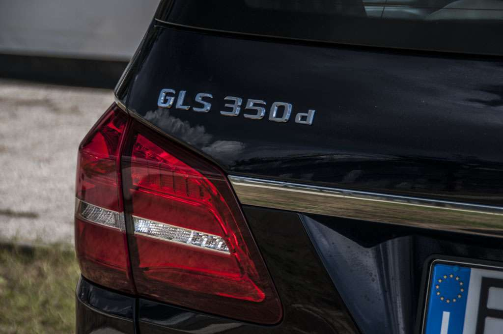 Mercedes GLS 350d luci a Led