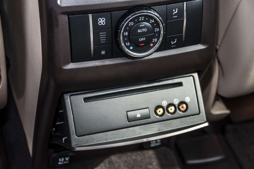 Mercedes GLS 350d audio