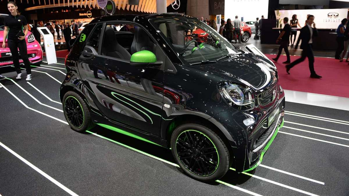 Smart ForTwo Electric Drive Salone di Parigi 2016