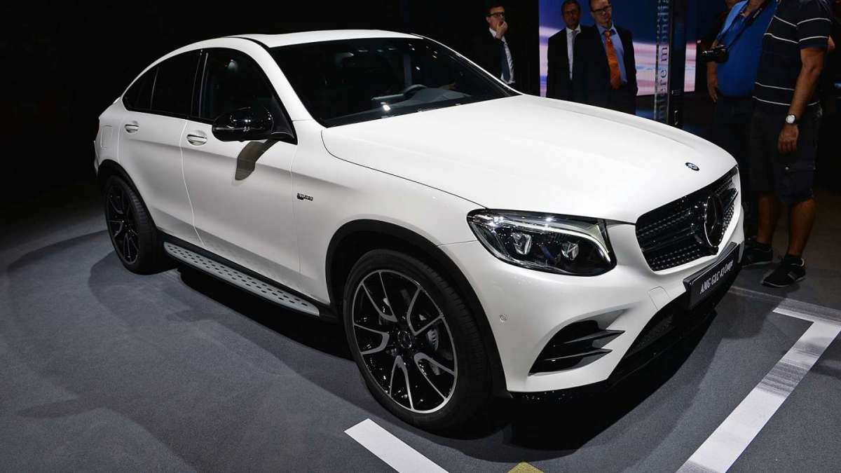 Mercedes GLC Coupé 43 AMG Salone di Parigi 2016