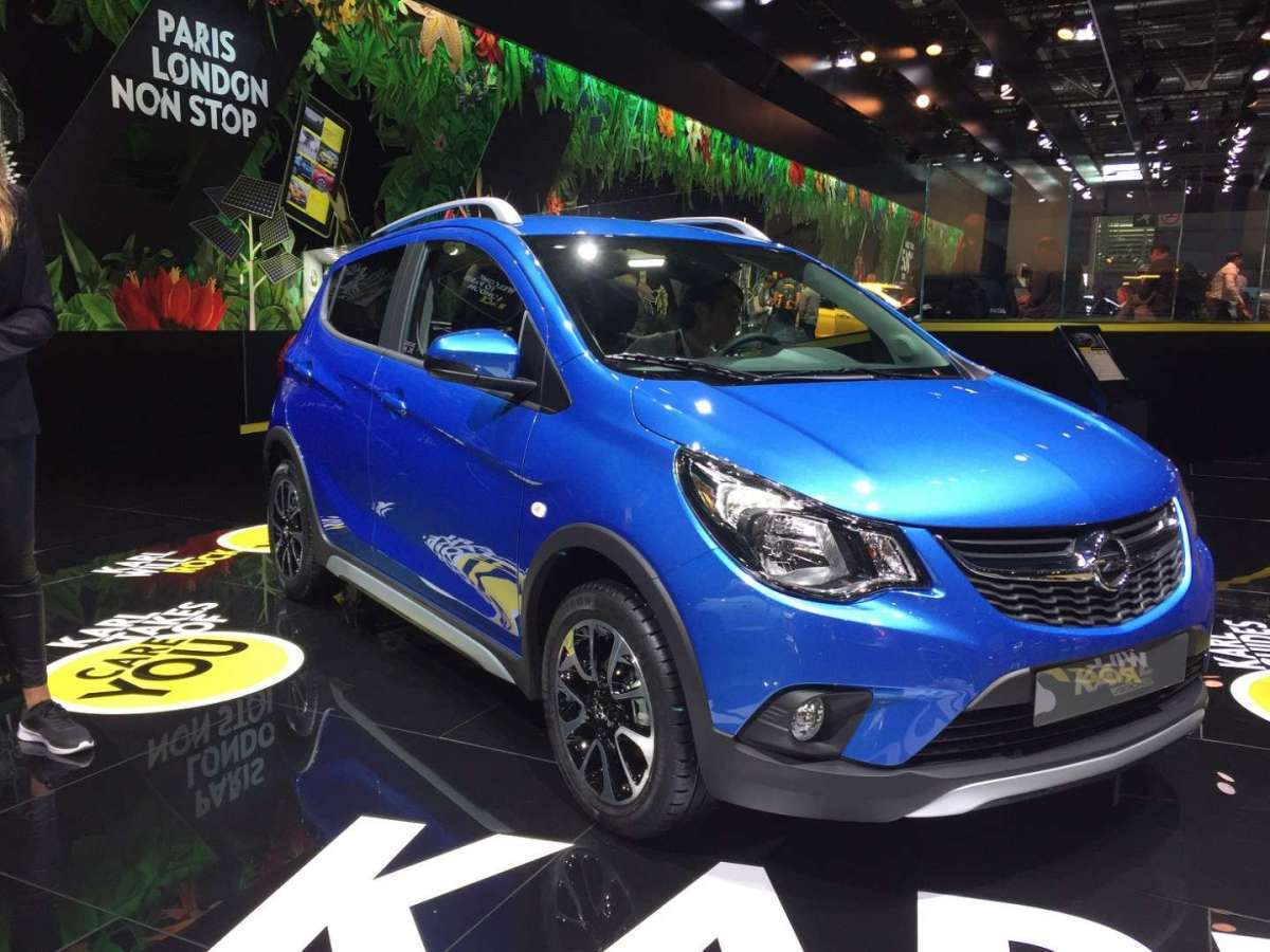 Opel Karl Rocks al Salone di Parigi 2016
