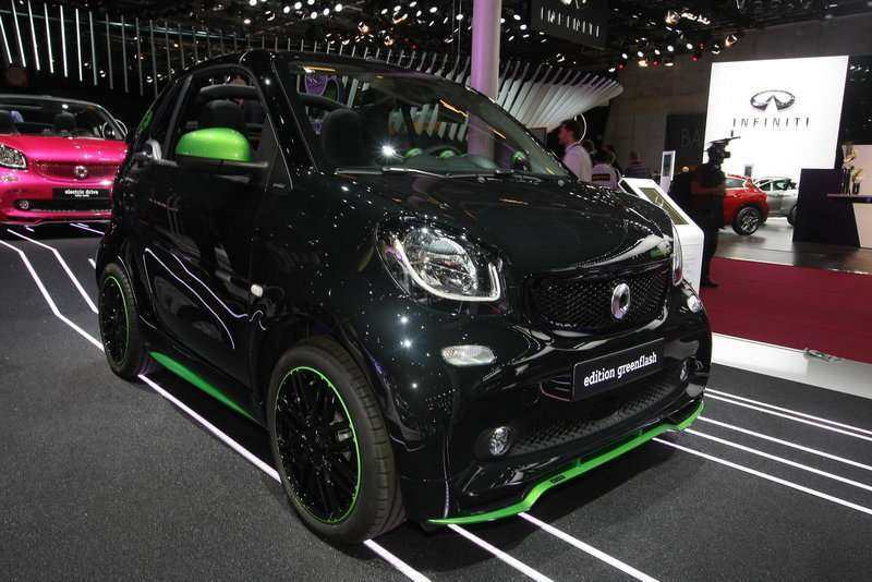 Smart electric drive angolo anteriore