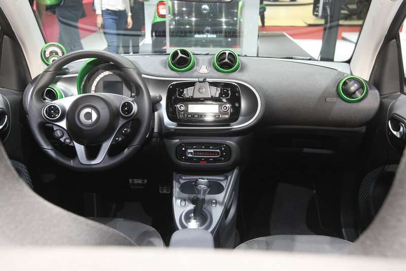Smart electric drive abitacolo