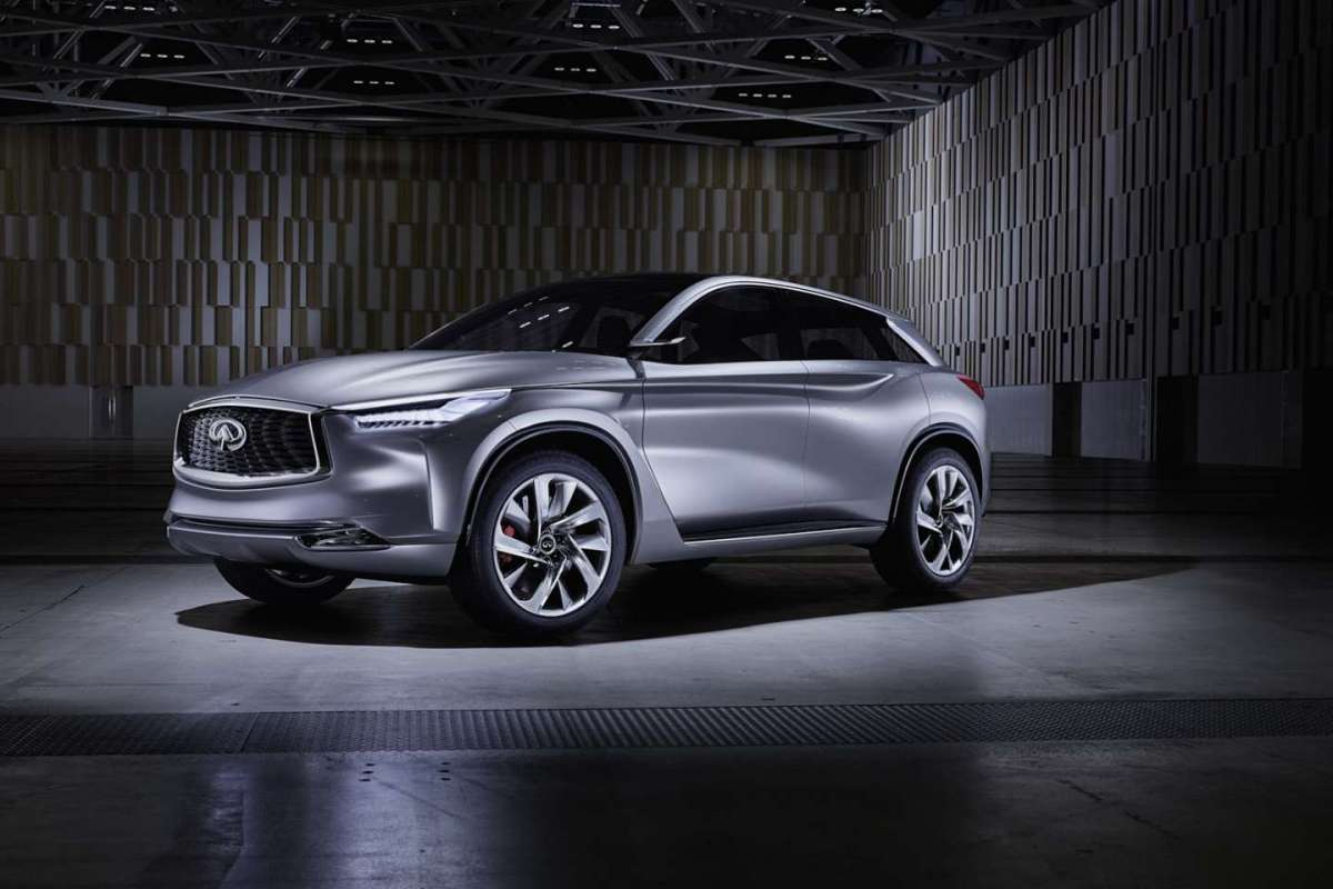 Infiniti QX Sport Inspiration Concept frontale