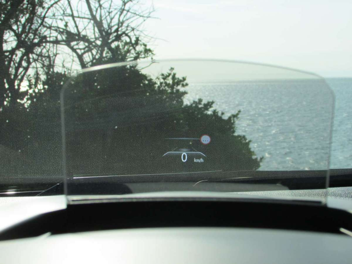 Head-Up Display della Scénic 2016 Hybrid Assist