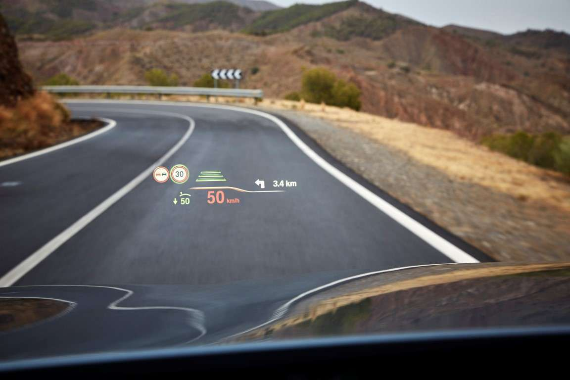 Head up Display di BMW Serie 5 2017