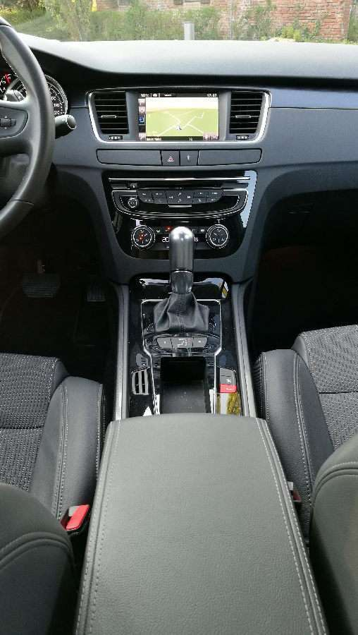 Peugeot 508 berlina consolle centrale