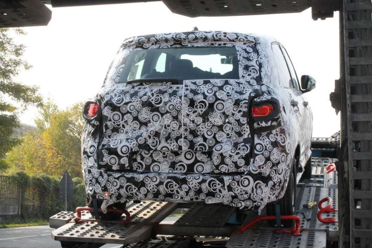 Fiat 500L 2017 restyling posteriore