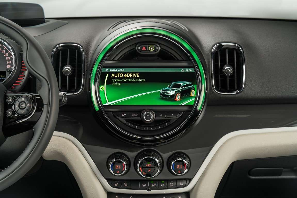 Consumi di Mini Countryman ibrida plug-in