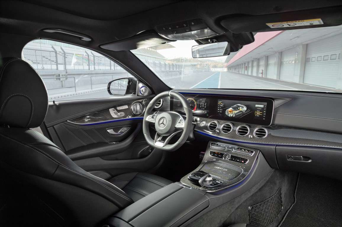 Interni di Mercedes AMG E 63 S 4Matic+