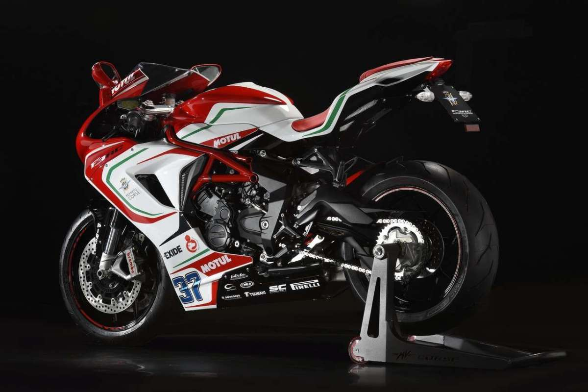 MV Agusta F3 675 RC Limited Edition coda