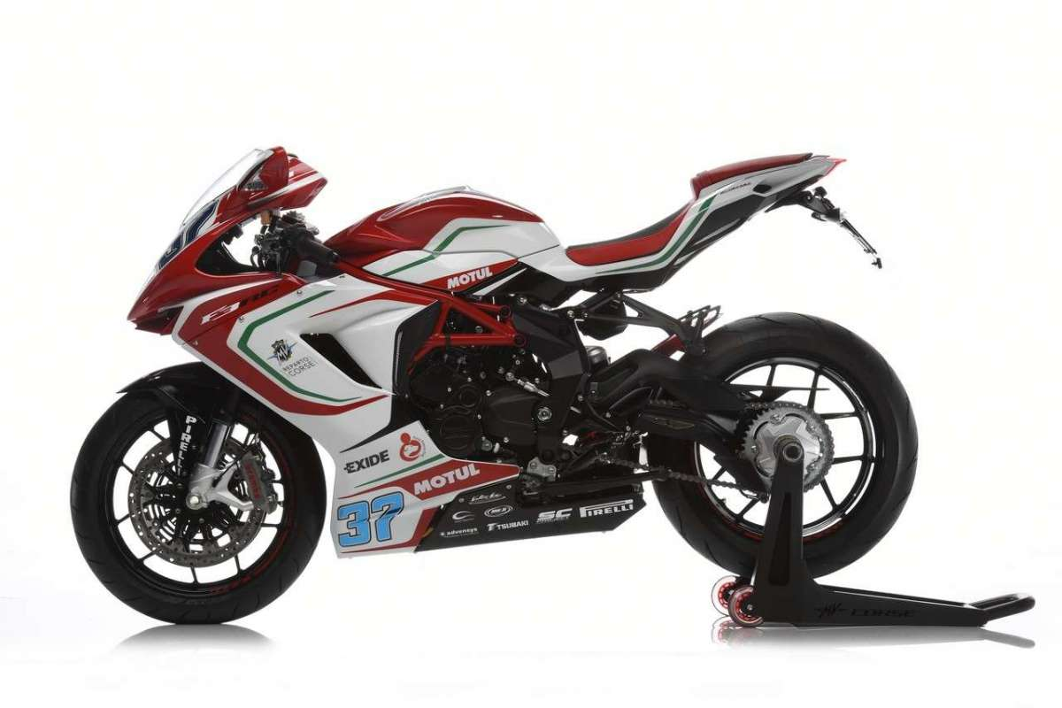 MV Agusta F3 675 RC Limited Edition fianco