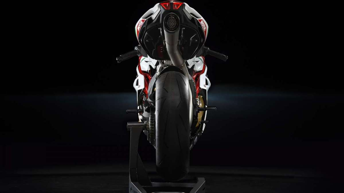 MV Agusta F4 RC MY 2017 Limited Edition vista da dietro