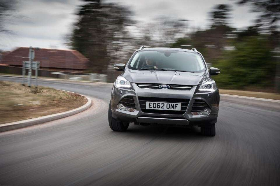 Ford Kuga frontale
