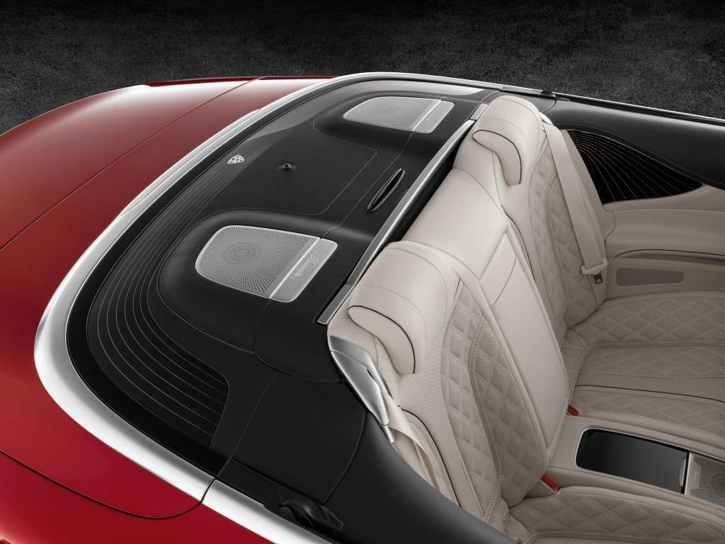 Mercedes Maybach S650 Cabriolet, caratteristiche