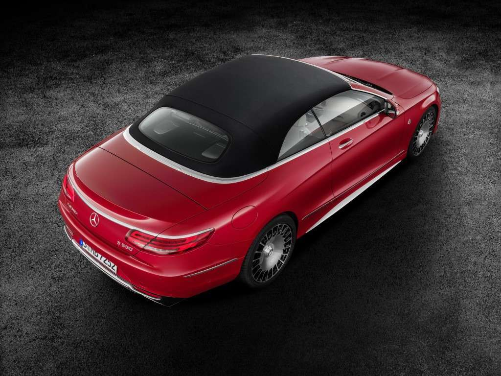 Mercedes Maybach S650 Cabriolet, capote