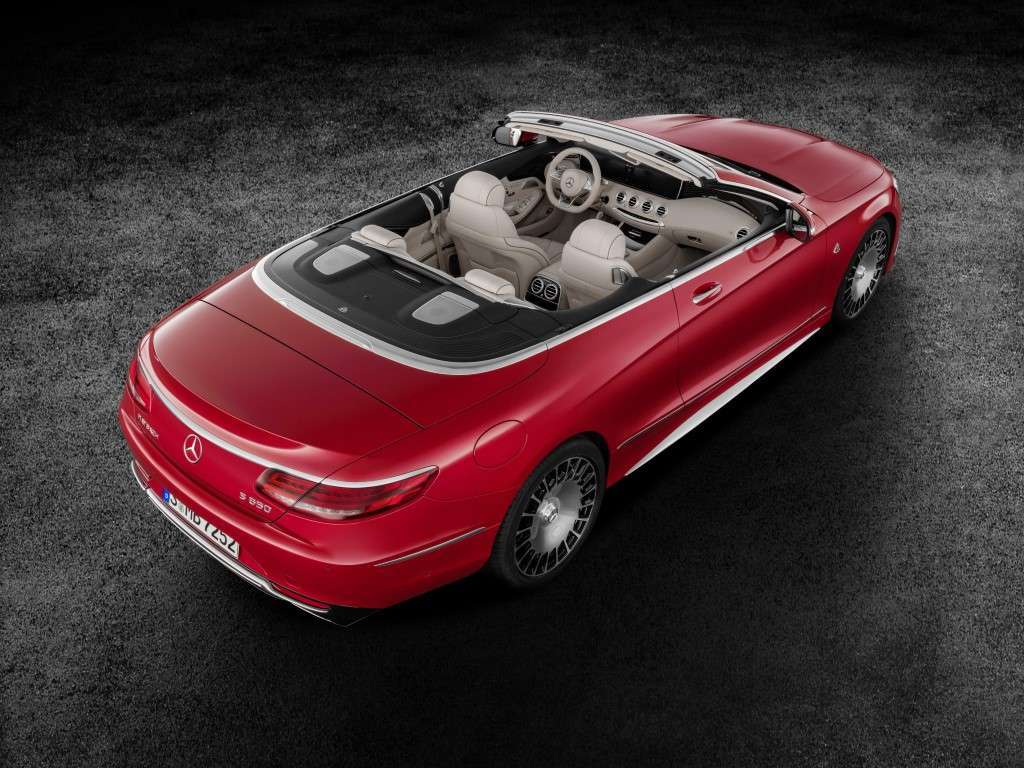 Mercedes Maybach S650 Cabriolet scoperta