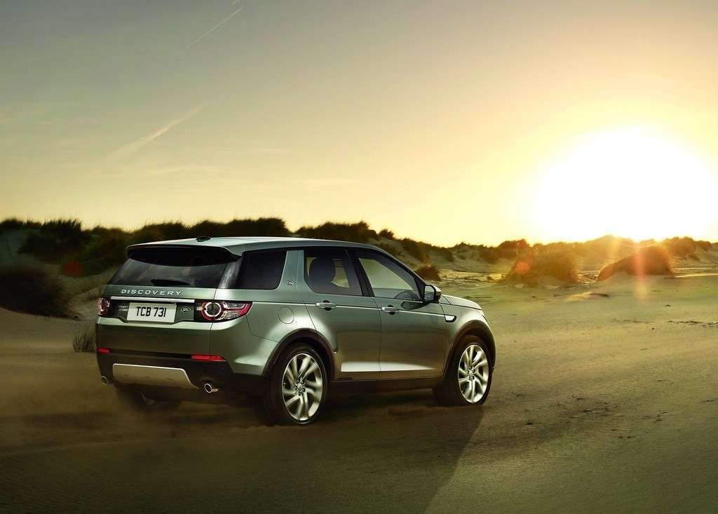 Land Rover Discovery Sport posteriore