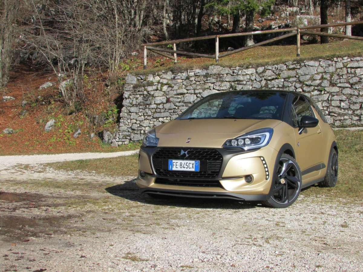DS 3 Performance BRM Chronographes, prova su strada